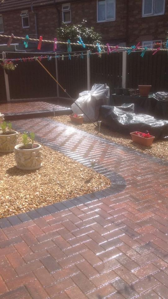 The Process Facelift Drives Driveway Cleaning And